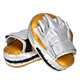 ERSD 2 Boxer Ziel Taekwondo Fuß Ziel Hand Ziel PU-Handziel Erwachsener Kind Trainingsziel (Farbe :...