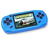 Bornkid 16 Bit Handheld Spielekonsole für Kinder und Erwachsene mit Integriertem 100 HD Videospiel...