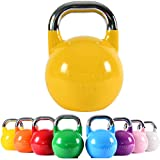 MSPORTS Kettlebell Competition 16 kg | Professional Studio Qualität | inkl. Übungsposter |...