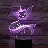 3D Illusion Nachtlicht Cartoon Thema Figur LED Nachtlampe für Kinder Farbwechsel Dekor Festival...
