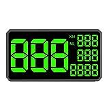 GXDD Geschwindigkeitsanzeige 6,2 Zoll große Bildschirm C1090 Auto Digital GPS Tacho KM H MPH für...