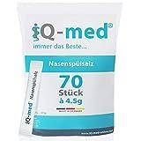 Nasenspülsalz von iQ-med® | 70 Stück zu 4,5g | 315g | Salz für Nasendusche