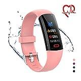 YoYoFit Fitness Tracker Kinder mit Blutdruck Pulsmesser,Fitness Uhr Wasserdicht IP68...