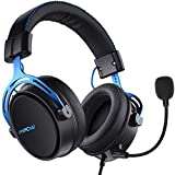 Mpow PS4 Headset Xbox One, Air SE Gaming Headset mit Mikrofon, Over-Ear Gaming Kopfhörer mit 3D...
