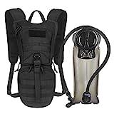 Unigear Trinkrucksack mit 2.5L Trinkblase, taktischer Hydration Rucksack, Fahrradrucksack,...
