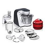 Bosch MUM5 StartLine Küchenmaschine MUM50E32DE, vielseitig einsetzbar, große Edelstahl-Schüssel...