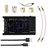 linjunddd NanoVNA-H4 Vector Network Analyzer 10KHz-1.5GHz HF VHF UHF Antenne Analyzer Schwarz