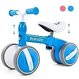 Peradix Kinder Laufräder Baby Lauflernrad Balance Fahrrad Dreirad Spielzeug für Jungen Mädchen,...