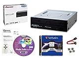 Pioneer BDR-212UBK Internes 16x Blu-ray Writer-Laufwerkspaket mit Cyberlink-Brennsoftware, 50 GB...