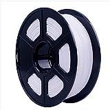 3D-Druck-Filament, PLA-Filament 1,75 mm, 1 kg (2,2 lb) für 3D-Drucker und Druckstift (Farbe: weiß)