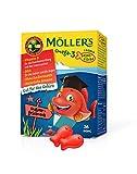 Mller's Omega 3 Kapseln fr Kinder | Natrliche Omega 3 Fischtran mit Erdbeergeschmack | Mit DHA und...