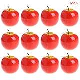 lailongp Künstliche Früchte für Fotografie Requisiten, 12 Stück