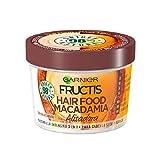Garnier Fructis Macadamia Hair Food Glättungsmaske Für Trockenes Und Widerspenstiges Haar 390ml