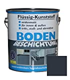 Flssig Kunststoff 5L Bodenbeschichtung 50m Betonfarbe Beton Beschichtung (Anthrazitgrau)