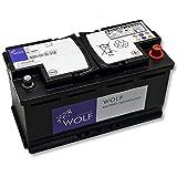 Wolf AGM Autobatterie - 12V 100Ah 1000A I VRLA Batterie für Autos mit Start-Stop Funktion -...