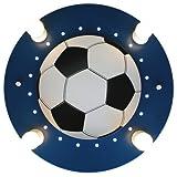 Elobra Deckenlampe Fußball Fußballlampe Kinderzimmer Wandlampe Kinderlampe, mit E14 Fassung,...