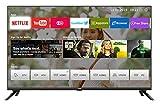 Randloser UHD Fernseher 55 Zoll TV 4k Randlos Smart TV 138 cm Bilddiagonale [Made in EU] (Version...