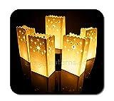 50 STK. Lichttüten, Candle Bags, Luminaria Party & Feier Geburtstag - Nacht Sterne Design