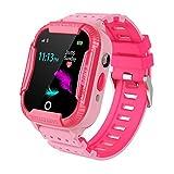 PTHTECHUS Kinder GPS WiFi Intelligente Uhr Wasserdicht, Smartwatch mit Kinder SOS Handy Touchscreen...
