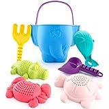 CubicFun Sandspielzeug Set für Kinder und Kleinkinder, Strandspielzeug Enthält Sandschaufel und...