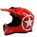 Lanbinxiang@ Offroad-Profi-Offroad-Helm Motorrad schöner Helm Vier Jahreszeiten Reiten...