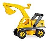 Lena 04211 - EcoActives Bagger, ca. 35 cm, Baustellen Spielfahrzeug für Kinder ab 2 Jahre, robuster...