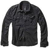 Brandit Vintage Shirt Longsleeve Schwarz 3XL