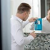 PAN-UK Badezimmerzubehör, Silikon, Zahnbürstenhalter, Aufbewahrungsbox für Zahnpasta, Grün