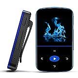 Mibao 32 GB Bluetooth MP3 Player mit Clip, Bluetooth MP3 mit Touchscreen mit...