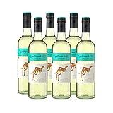 Yellow Tail Moscato – Lieblicher Weißwein aus Australien mit 7,5% vol. Alkohol (6 x 0,75l)