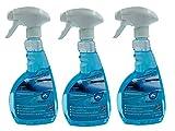 KaiserRein Scheibenentfroster 3 x 0,5L Scheibenenteiser Spray Verkratzen der Scheiben verhindert und...