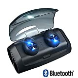 TWS Bluetooth 5.0 Kopfhrer Wireless In-Ear-Ohrhrer Stereo-Ohrhrer wasserdichte Drahtlose Kopfhrer...