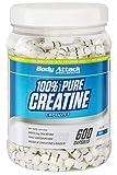 Body Attack 100% Pure Creatine, Reines Kreatin Monohydrat als Kapseln (1 x 600 Kapseln)