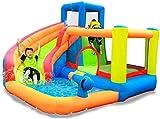 genneric Kinder aufblasbares Schlag-Haus mit Blower Aufblasbare Outdoor-Wasserrutsche mit Pool und...