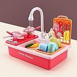 Ycco Kinder Küche Waschbecken Spielzeug Simulation Elektrische Geschirrspülmaschine mit...
