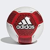 adidas Jungen STARLANCER VI Turnierbälle für Fußball, White/Active red/Black, 5