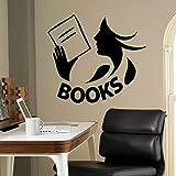 Tianpengyuanshuai Bücher Wandaufkleber Vinyl Aufkleber Bibliothek Schule Klassenzimmer Familie...