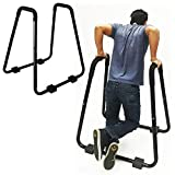 QXT Parallettes, Push-Up-Station, Dip-Station, Functional-Training, Stabiles Gestell für...