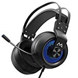 Taoke Gaming mit 50mm Treiber, Stereo Surround Sound Gaming mit Noise-Cancelling Mikrofon In-Line...