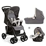 Hauck Shopper SLX Trio Set 3 in 1 Kinderwagen bis 25 kg + Babyschale + Babywanne mit Matratze ab...