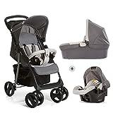Hauck Shopper SLX Trio Set 3 in 1 Kinderwagen bis 25 kg + Babyschale + Babywanne mit Matratze ab...