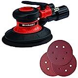 Einhell Druckluft-Exzenterschleifer TC-PE 150 (max. 6,3 bar, 10500 min.-1, 150 mm...