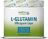 L-GLUTAMIN KAPSELN Ultrapure - 150 Mega Caps je 1000mg ohne Zusatzstoffe - höchste Dosierung -...