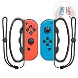 MENEEA Boxgriff für Nintendo Switch JoyCon, 2 Packungen Fangen Assist Grip Tool für Fitnessboxen...