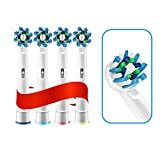 WANGZHENZHEN Shuzhen Aufsteckbürsten für elektrische Zahnbürsten, austauschbar, passend für Oral...