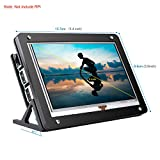 kuman 5 inch Resistive Touch Screen with Protective Case 800x480 HDMI Touchscreen Monitor TFT...