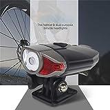 No logo G.Y.Xuan LED-Fahrrad-Font-Licht USB aufladbare Fahrradlenker Scheinwerfer...