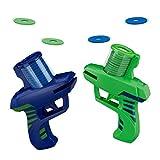 Relaxdays Disc Shooter, 2er Set, Spaß für Kinder, lustiges Kinderspielzeug, draußen, mit...