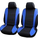 LALEO Auto Sitzbezüge,Universal Vordere Reihe Polyester Atmungsaktiv Sitzschutz Schonbezüge...