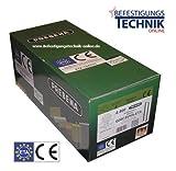 Prebena Q-6774 50 mm CSVHA-ETA Heftklammern stark verzinkt geharzt mit ETA Zulassung Brandschutz